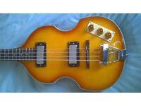 Epiphone Beatle bass guitar