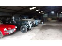 Dry secure vehicle storage available immediately