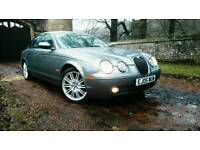 S TYPE JAGUAR 2.7 V6 SPORT TWIN TURBO DIESEL F.S.H.11 MONTHS M.O.T IMMACULATE.