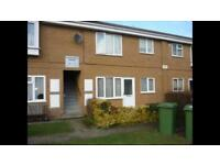 2 bed flat with parking space. March, cambs pe15