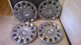 "SET OF CITROEN 15"" WHEEL TRIMS"