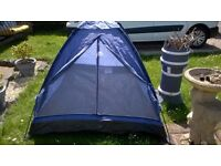 LOVELY 2 BERTH TENT IDEAL FESTIVALS , CAMPING ECT