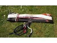 """Kitesurfing Slingshot Compstick 20"""" x 23m Lines."""