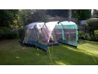 Outwell Birdland 3 Tent with front extension.