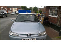Peugeot 306 Diesel for sale 12 moth mot