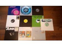 "12"" VINYL RECORDS FUNKY HOUSE DANCE LATIN DJ MIXING RAVE PARTY JOB LOT"