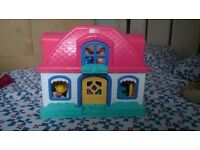 Fisher Price Little People Sounds Doll House