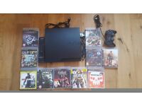 PS3 bundle with 10 games!