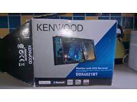 Kenwood cd/dvd player car stereo