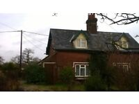 Unfurnished Semi-Detached 2 bed Cottage with oil-fired central heating