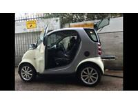 Smart car with brand new MoT