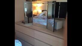 NEXT beveled mirror