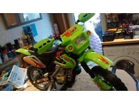 Electric ride on motocross bike (6 volt)