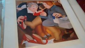 BERYL COOK SIGNED LIMITED EDITION PRINT (UNFRAMED)