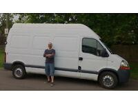 Reliable Man and Van, CLEARANCES, Removals, Single item or full van, Deliveries, Dedicated van