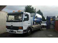 Mercedes atego beavertail (recovery) lorry