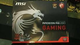Msi radeon r9 280 3GB graphics card