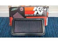 mazda mx5 mk3/ 3.5 k/n air filter