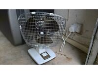 Xpelair-Taurus Electric Desk Tabletop Oscilliating Fan