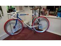Refurbished Vintage Road Bike Single Speed/ Fixed Wheel (Fixie)