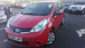 2009 nissan note 1.4 1 owner full history