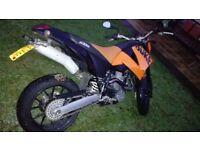 KTM 640 DUKE (orange) for sale