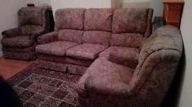 FREE 3-piece sofa set