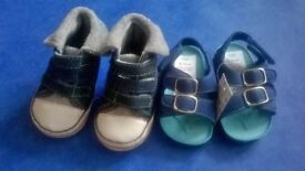 Baby boys 6-12 months shoes £1.50 each NEW