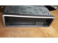 1 head unit JVC KD G421 flip front car stereo, CD player, MP3 player