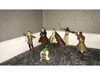 Star Wars Jedi figures