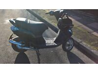 piaggio zip sp 2001 plate 70 reg as 50 no swaps no offers (gilera typhoon nrg )