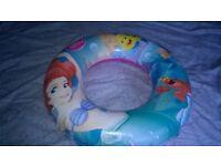 disney princess blow up swimming ring vgc