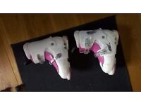 Nevica boys and girls ski boots adjustable £10 per pair - Mondo size 18-21.5 and 22-25
