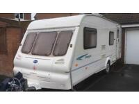 6 berth Bailey ranger550/6. 2002. With awning/motor mover & all the extras. I can deliver. Cheap