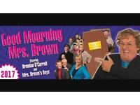 2x tickets Good Mourning Mrs Brown June 10th