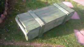 Wooden storage crates, ammo boxes or Garden Planters