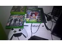 Xbox One Limeted edition + Games
