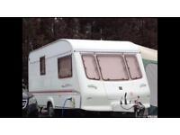 elddis crown 2 berth caravan