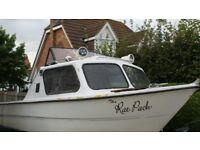 18ft Fishing Boat Project with Trailer