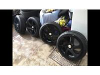 """3SDM 0.06 18"""" Alloy Wheels With Tyres"""