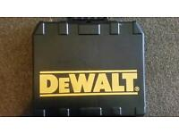 Dewalt 18 volts cordless handset 2 battery's case and charger?