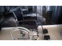 LOVELY SELF PROPELLED OR PUSH WHEEL CHAIR