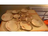 Vintage Alfred Meakin Marquis Shape Marigold part dinner service