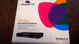 Humax Easy Digital Foxsat HD Satellite Digital box - Band NEW
