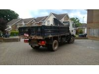 Leyland Daf Tipper with Hiab