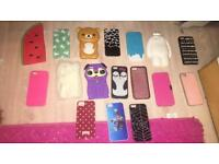 Bundle of iphone 5/5s cases