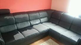 Corner sofa bed(need new fabric)