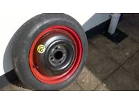 Space saver spare tyre for sale