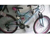 Girls mountain bike with disc brakes