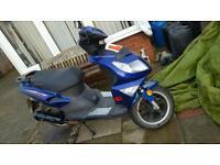 £500 12 months.mot moped 125 boatian evolution